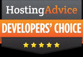 HostingAdvice Award